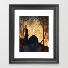 Plundering of Airlie Framed Art Print