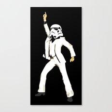 saturday night trooper _ star wars Canvas Print