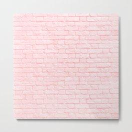 Bubblegum Brick Metal Print
