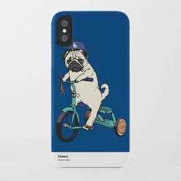 Haters gonna hate LA iPhone Case