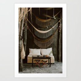 Mystical coffee spot in Mexico Art Print