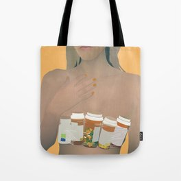 Digital Druglord-Blackbear Tote Bag