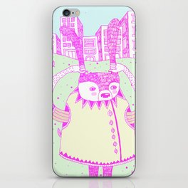 I wanna go iPhone Skin