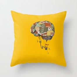 brain kludge Throw Pillow