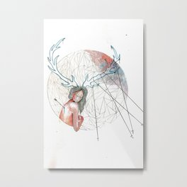 Captivity Metal Print
