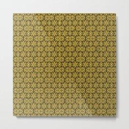 Primrose Yellow Floral Metal Print
