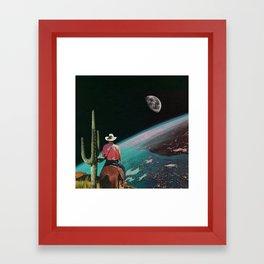 Yeehah Framed Art Print