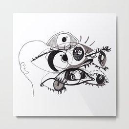 Eyescene Metal Print