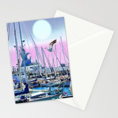 Stretching High Stationery Cards