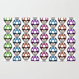 Multicoloured Mushrooms Rug