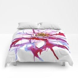 Bleeding Lotus Comforters