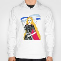 justice Hoodies featuring Justice by Alxndra Cook