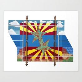 Altered State: AZ Art Print
