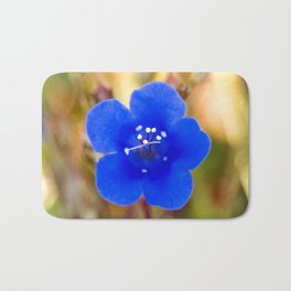 Desert Bluebell Alternate Perspective Bath Mat
