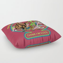 My Imaginary Friends Floor Pillow