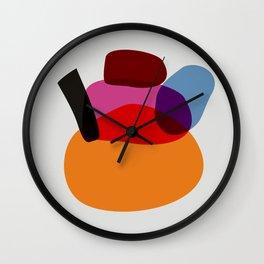 minimalistic japanese colorist Wall Clock