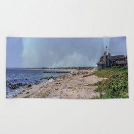 Watch Hill Beach Beach Towel