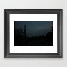 Shooting stars? Framed Art Print