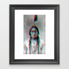 relief.  Framed Art Print