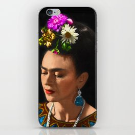 FRIDA KAHLO TURQUESA iPhone Skin