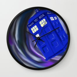 In the Vortex Wall Clock