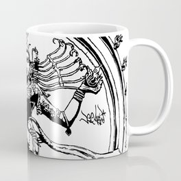Natraj Dance - Mono Coffee Mug