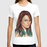 turquoise T-shirts featuring Turquoise by Lara