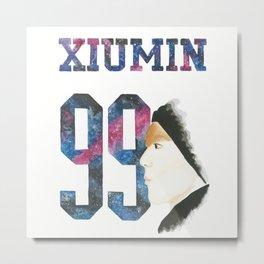 Xiumin 99 Metal Print