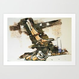 Moonsault Art Print