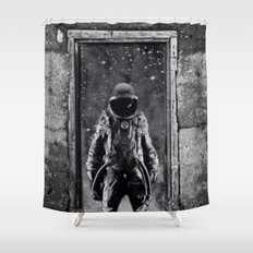 The man from earth Shower Curtain