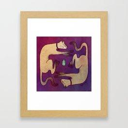 Cats Framed Art Print