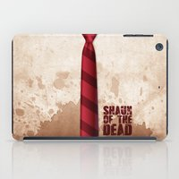 shaun of the dead iPad Cases featuring SHAUN OF THE DEAD by VineDesign