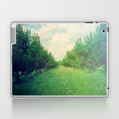 Apple Orchard in Spring Laptop & iPad Skin