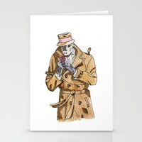 rorschach Stationery Cards featuring Rorschach by Of Newts and Nerds