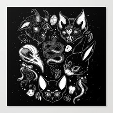 FAMILIAR SPIRITS Canvas Print