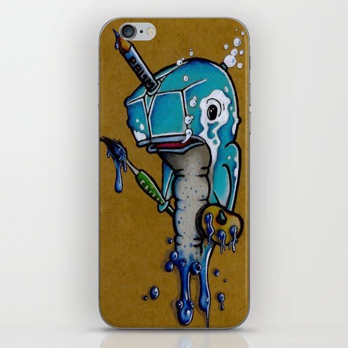 Narwhal iPhone Skin