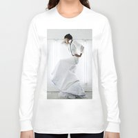 wedding Long Sleeve T-shirts featuring Wedding by Anthracite