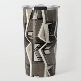 Balconies Pattern Travel Mug