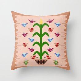 Gift of Corn Throw Pillow