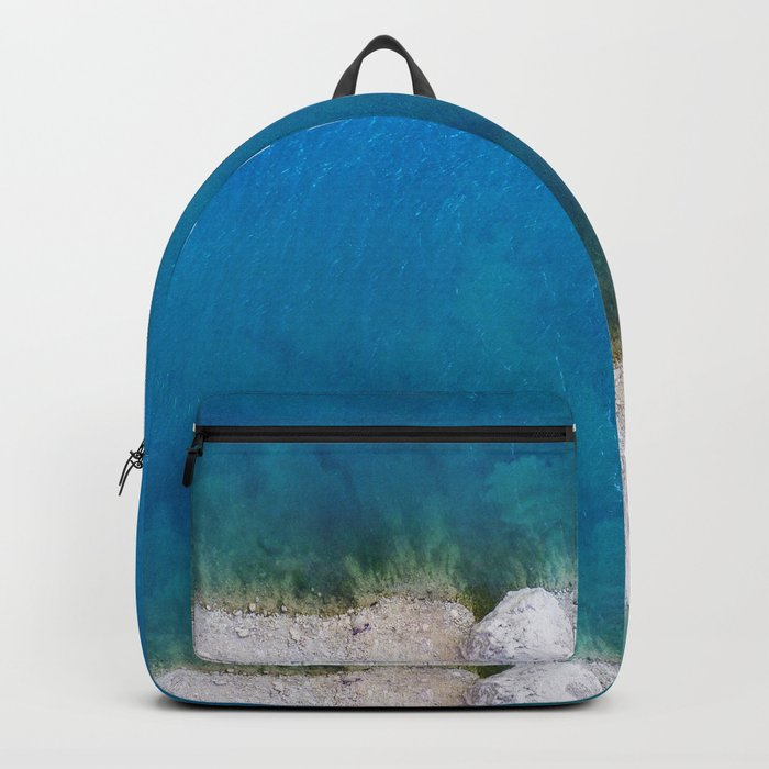 Blue from the top 1 Backpack