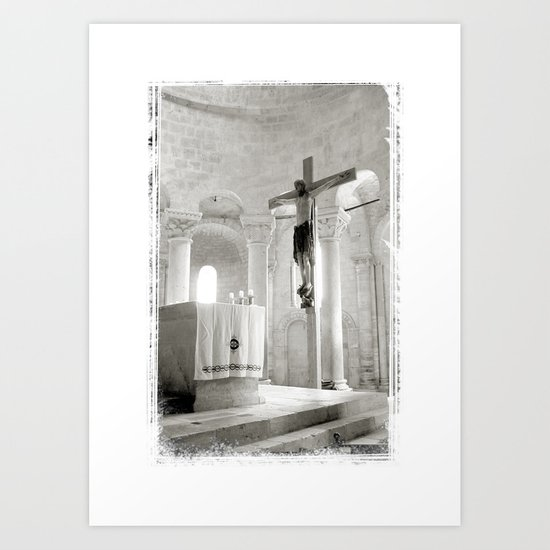 Crucifix-Redemption Art Print