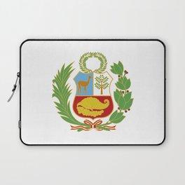 Peru Shield Laptop Sleeve