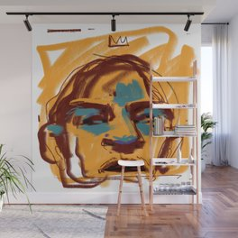 Face Study Wall Mural