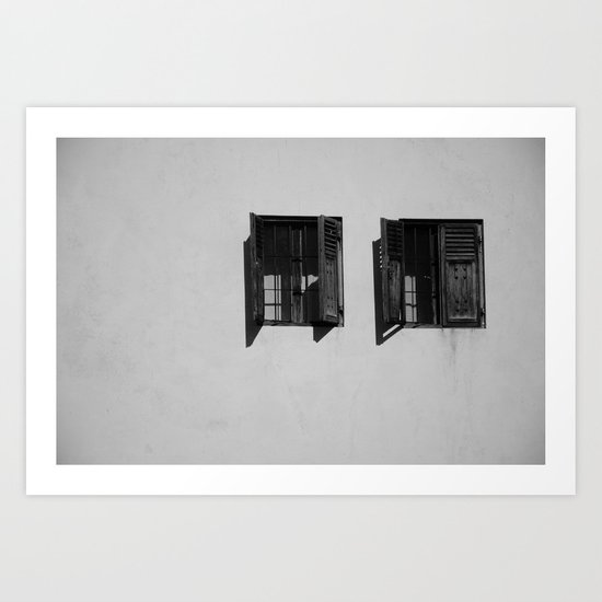 can  you see? Art Print