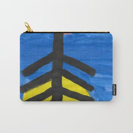 Fish bone watercolor Carry-All Pouch