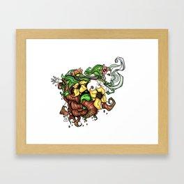 Back to Roots Framed Art Print