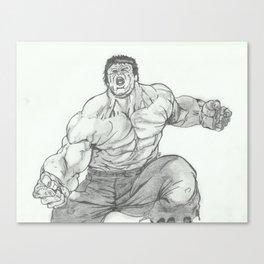 Hulk Smash. Canvas Print