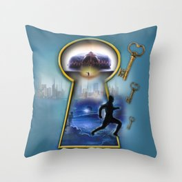 Operation Self Transformation  Throw Pillow