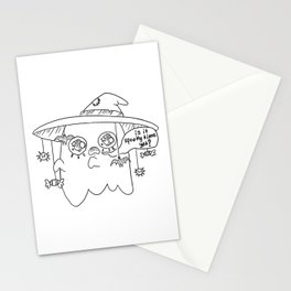 Impatient Ghosty Stationery Cards