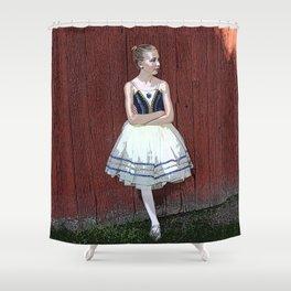 Pretty Ballerina Shower Curtain